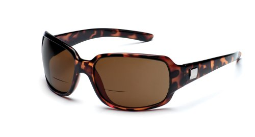 (Suncloud Optics Cookie Reader Polarized Fashion Sunglasses - Tortoise/Brown +1.5)