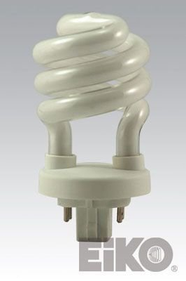 Eiko SP13/27-4P 13W 2700K 4 Pin Base Spiral Halogen Bulbs (11w Spiral)