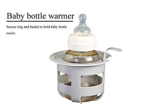 Baby Bottle Warmer - Only 3 MINS Warm 4 Ounces Milk! Upgraded Heating System, 500W ETL Certified, BPA Free, Consistent Hot Spots, Only Available at