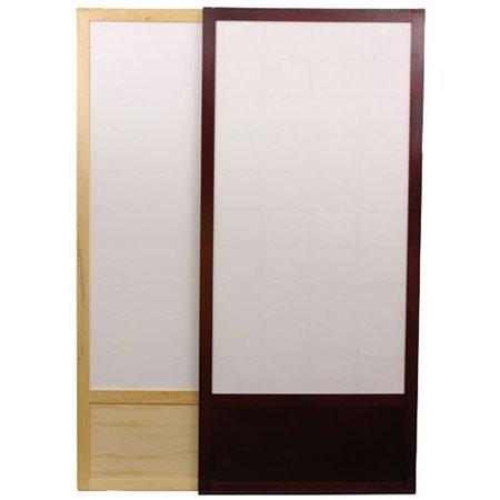 Amazon.com Oriental Furniture 7 ft. Tall Zen Shoji Sliding Door Kit - Black Kitchen \u0026 Dining  sc 1 st  Amazon.com & Amazon.com: Oriental Furniture 7 ft. Tall Zen Shoji Sliding Door Kit ...