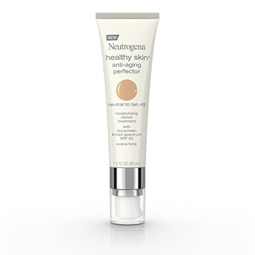 Neutrogena Healthy Skin Anti-Aging Perfector Spf 20, Retinol Treatment, 40 Neutral To Tan, 1 Fl. Oz.