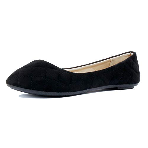 Guilty Shoes - Demi 12 Black Suede, 10
