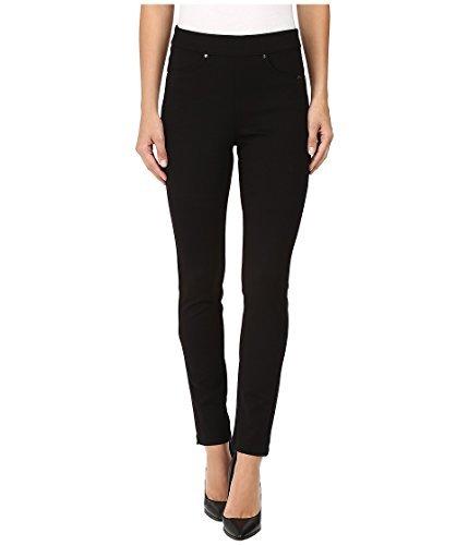 FDJ French Dressing Jeans Women's Ponte Pull-On Slim Jegging Black 10 32