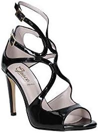 Grace shoes 018SP011 High heeled sandals Women Black 38