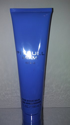 Pitbull Miami Aftershave Balm For Men 3.4 oz -Free Name Brand Sample-Vials With Every Order- (Miami Pitbull)