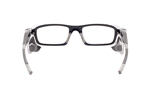Leaded Glasses Radiation Protective Eyewear RG-17012-BK by Phillips Safety Products, Inc. (Image #3)