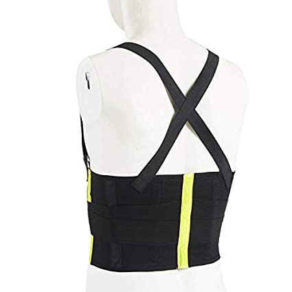 Posture Pain Relief Waist Support Night Running for Gym Lifting XL Holulo Back Belt Work Belt with Reflective Strip Adjustable Compression /& Breathable Work