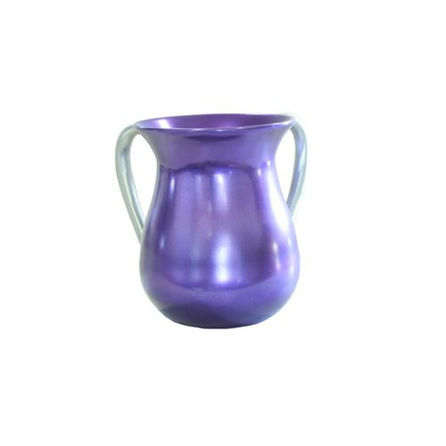 Yair Emanuel Ritual Hand Washing Cup in Purple Aluminum by Yair Emanuel (Image #1)