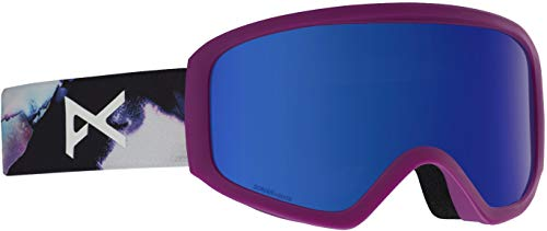 Anon Women's Insight Goggle with Spare Lens, Watercolor Frame Sonar Irblue Lens (Anon Wm1)