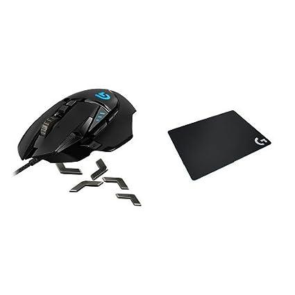 48ef729308a Logitech G502 Proteus Spectrum RGB Tunable Gaming Mouse + Logitech G240  Cloth Gaming Mouse Pad Bundle: Amazon.ca: Computers & Tablets