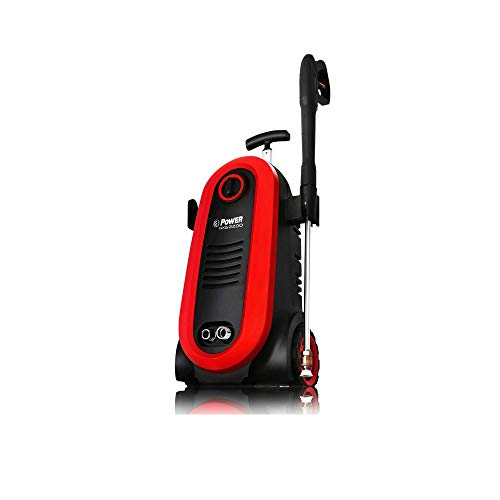 POWER Pressure Washer 2200 PSI Electric 1.76 GPM Brushless Induction Technology | The Next Generation of Pressure Washer | 4X More Lifespan | Ultra Low Sound | New Design | Power Efficient (Red)
