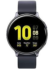Samsung Galaxy Watch Active 2 (44mm, GPS, Bluetooth), Aqua Black (US Version)