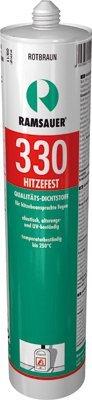 Ramsauer 330 Hitzefest braun 1K Silikon Dichtstoff 310ml Kartusche Ramsauer GmbH & Co. KG