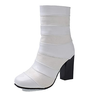 con Botines Cremallera Botines grueso para RTRY 5 5 nubuck articulada Botines tacón otoño Zapatos de dividida punta Cuero invierno redonda de US10 moda para EU42 mujer de Botas de CN43 UK8 Botas TRZqnw1B