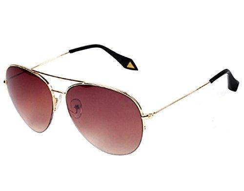 Las Goldframetea Gafas De Sol Hombres Chengxiaoxuan Los vBTtnq