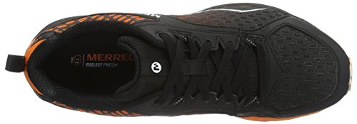 Merrell Mens All Out Crush Hard Trailers, Nero Arancio