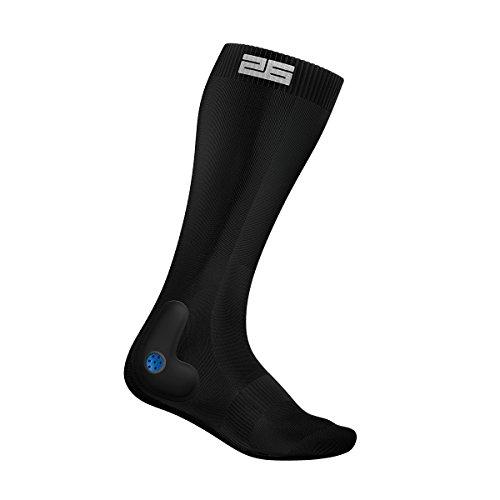 Stable 26 PTX Performance Hockey Above Pair Socks, Black, X-Large