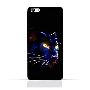 AMC Design Panther Eye Pattern Printed Protective Case for Vivo X9 S - Multi Color