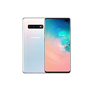 Samsung Galaxy S10+ Plus 512GB / 8GB RAM SM-G975F/DS Hybrid/Dual-SIM (GSM Only, No CDMA) Factory Unlocked 4G/LTE Smartphone – International Version No Warranty (Ceramic White)