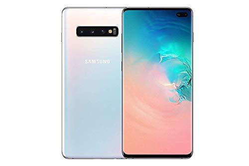 Samsung Galaxy S10+ Plus 512GB / 8GB RAM SM-G975F/DS Hybrid/Dual-SIM (GSM Only, No CDMA) Factory Unlocked 4G/LTE Smartphone - International Version No Warranty (Ceramic White)