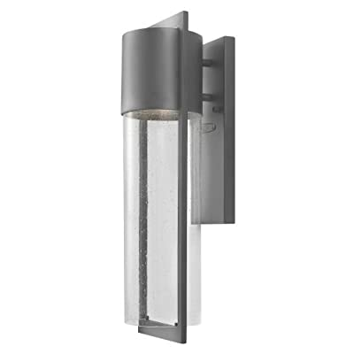 """Hinkley Lighting 1324 20.5"""" Height 1 Light Dark Sky Outdoor Wall Sconce from the,"""