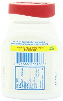 Aleve Tablets with Easy Open Arthritis Cap 200ct (Pack of 2) Personal Healthcare / Health Care