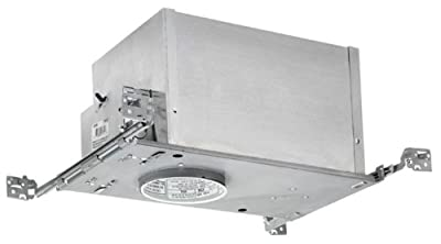 Juno Lighting IC44N 4-Inch IC rated Low Voltage New Construction Recessed Housing