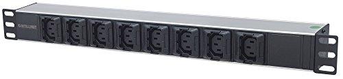 Intellinet 19'' 1U Rackmount Anti-Shedding 8-Output C13 Power Distribution Unit (PDU) by Intellinet