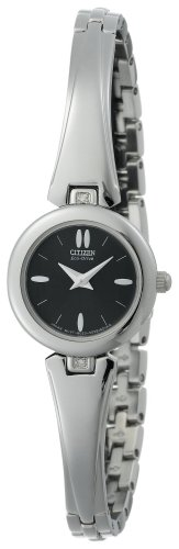 Citizen Women's EW9270-53E Eco-Drive Silhouette Bangle Watch ()
