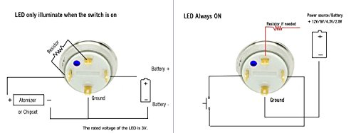 joyluxy qn19d4 momentary metal push button switch 3a
