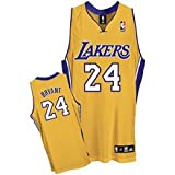 Adidas NBA Kobe Bryant Los Angeles Lakers Game Authentic Home Jersey