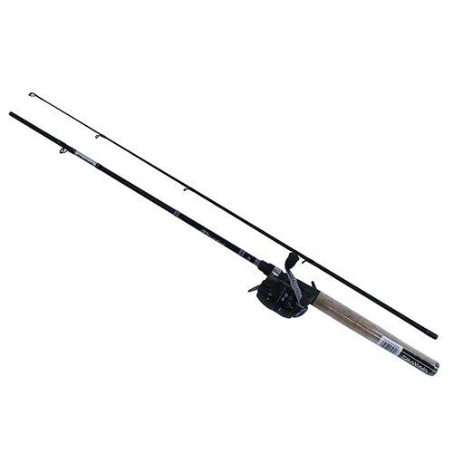 Daiwa DTC80-B/G562ML D-Turbo Spincast Combo 5'6 Medium/Light Action, Black