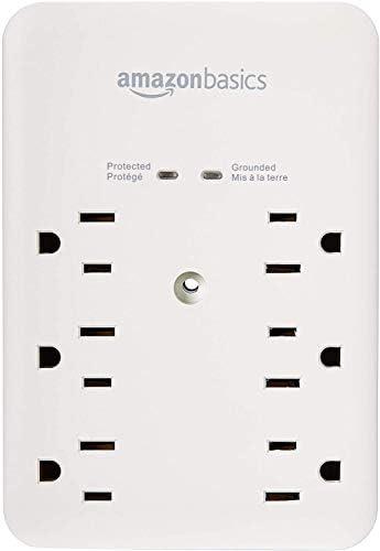 amazon-basics-6-outlet-wall-mount