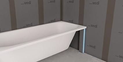 Vasca Da Bagno Wedi : Grembiule di vasca bathboard mm rif