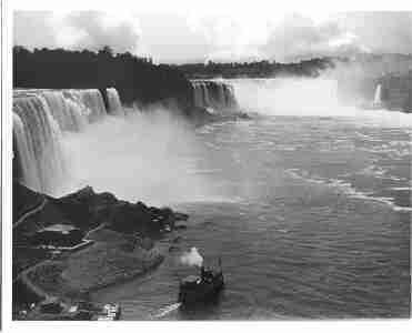 Photo Maid Mist Niagara Falls New York c1910 ()