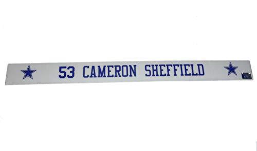 (Cameron Sheffield #53 Game Used Dallas Cowboys Stadium 36
