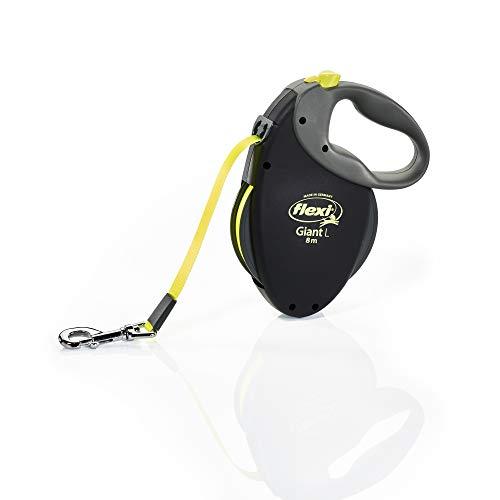 Flexi Bogdahn International Giant Neon Tape Dog Lead (8M) (Large/50kg)