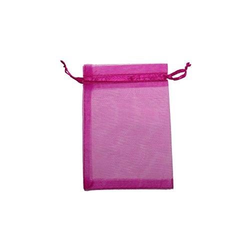 Buy pink organza bags 4x6
