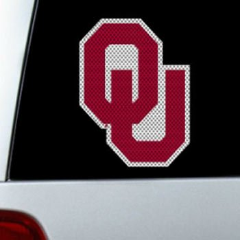 Fremont Die NCAA Oklahoma Sooners Large Window Film, 12