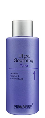 Dermafirm Ultra Soothing Toner with Azulene, 6.7ounce