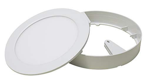 Painel LED. 2 em 1 Redondo, 6W, 6500K, ABS, Ecoforce, 17203