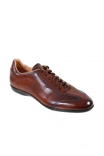 AMG braun Sneakers Herren Santoni 14398 Leder FqOE1wEZx
