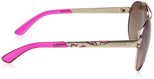 de Rosa Sol Gafas Dorado GUESS GF0282 Mujer para 61 Oro qwZ4y