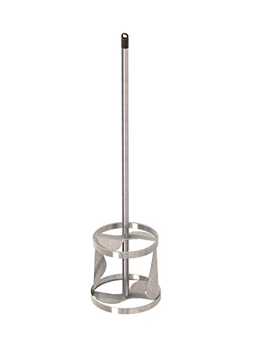 Bon 15-181 19-Inch by 5-Inch Stainless Steel Mud and Resin Mixer for 5-Gallon - Paddle Steel Stainless Mixing