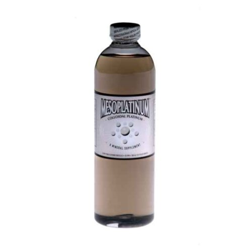 MesoPlatinum ® 10 ppm Colloidal Platinum 500 mL/16.9 Oz
