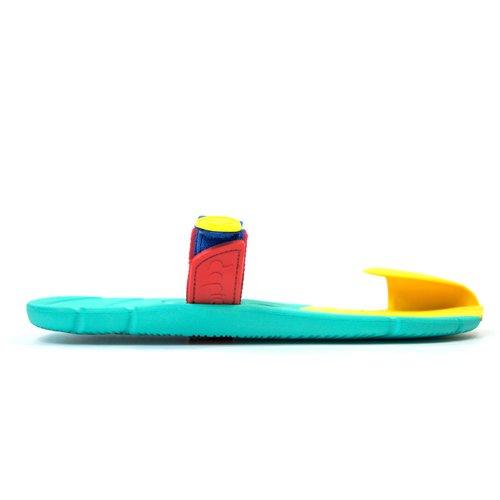 Xing Lin Sandalias De Cuero En El Campo De Verano Y Sandalias De La Marca De Marea Hombres Zapatillas Parejas Calzado De Playa, Antideslizante El Cuero Zapatillas Zapatillas Chica 37 S, Frijoles Verde