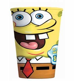 Spongebob Favor Cup 16oz [Contains 12 Manufacturer Retail Unit(s) Per Amazon Combined Package Sales Unit] - SKU# 4291557 ()