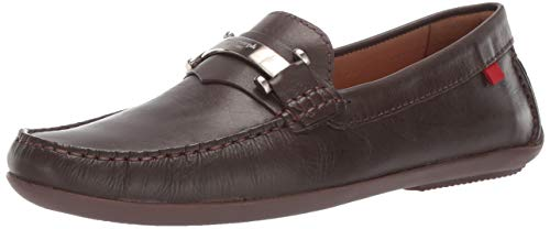 Marc Joseph New York Mens Genuine Leather Made in Brazil Bryant Park Driver Driving Style Loafer brown nappa 10.5 M US