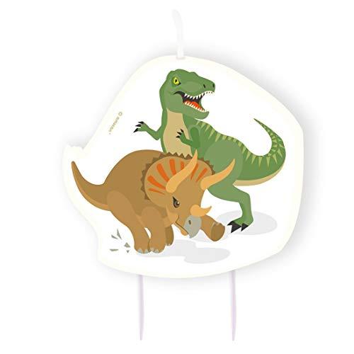 Amakando Extraordinarias Velas de Pastel Dinosaurio / 10cm ...