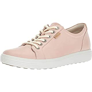 Ecco Womens Women's Soft 7 Fashion Sneaker, Rose Dust, 38 EU/7-7.5 M US